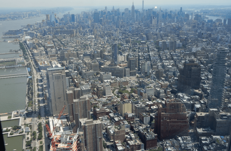 The best way to truly see New York is from the top of the 1 WTC (Simran Singh/ Daily Hive)
