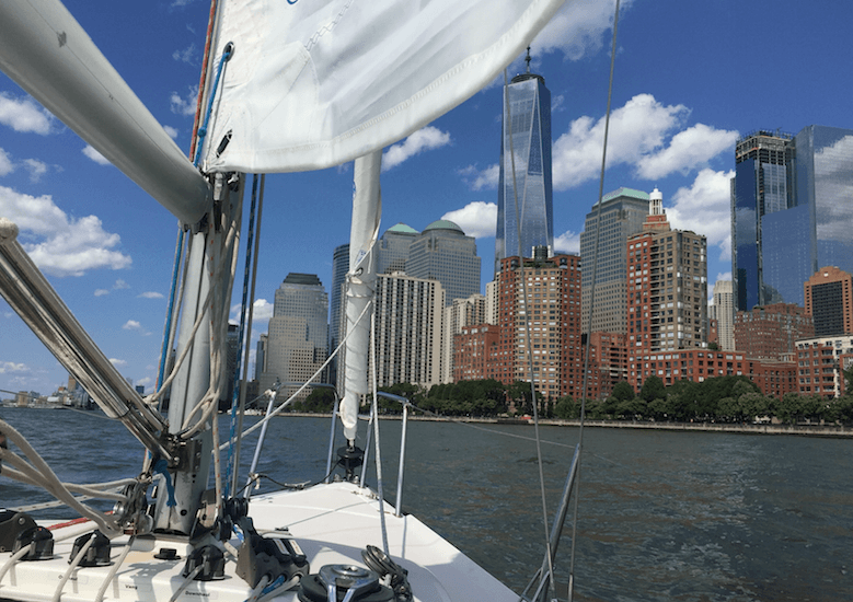 explore New York City from the Hudson River (Simran Singh/ Daily Hive)
