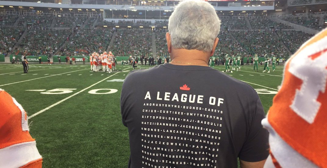 CFL launches 'Diversity is Strength' shirts early in response to racism in Charlottesville