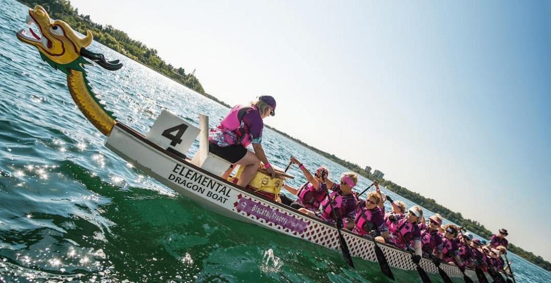Calgary's Dragon Boat Festival took over North Glenmore Park (PHOTOS)