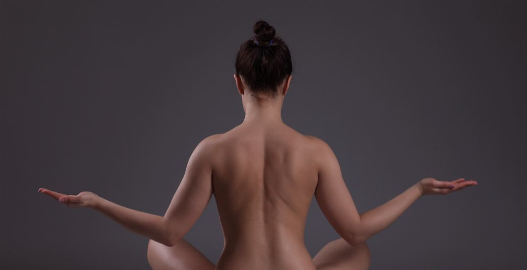 You can take a naked yoga class in Montreal this month