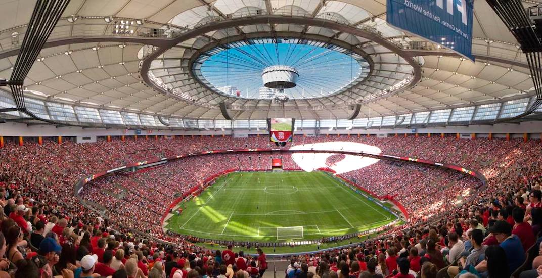 Bc place stadium fifa womens world cup 2015 vancouver
