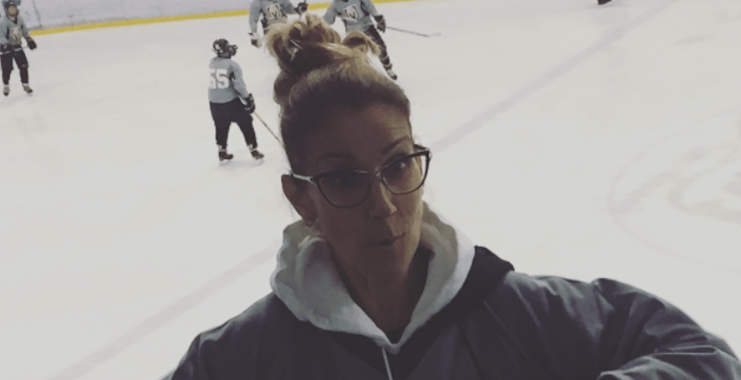 Watch Celine Dion dance in the stands at her son's hockey game (VIDEO)
