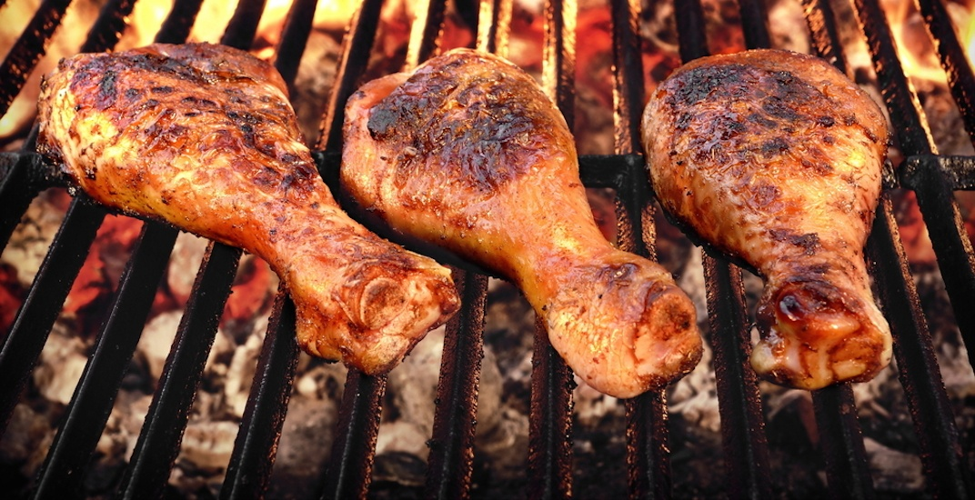 Bbq barbecue grilled chicken