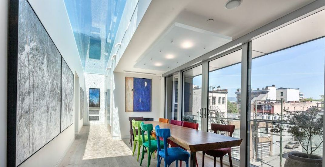 A Look Inside: $9.5-million Chinatown penthouse with glass-bottom pool (PHOTOS)