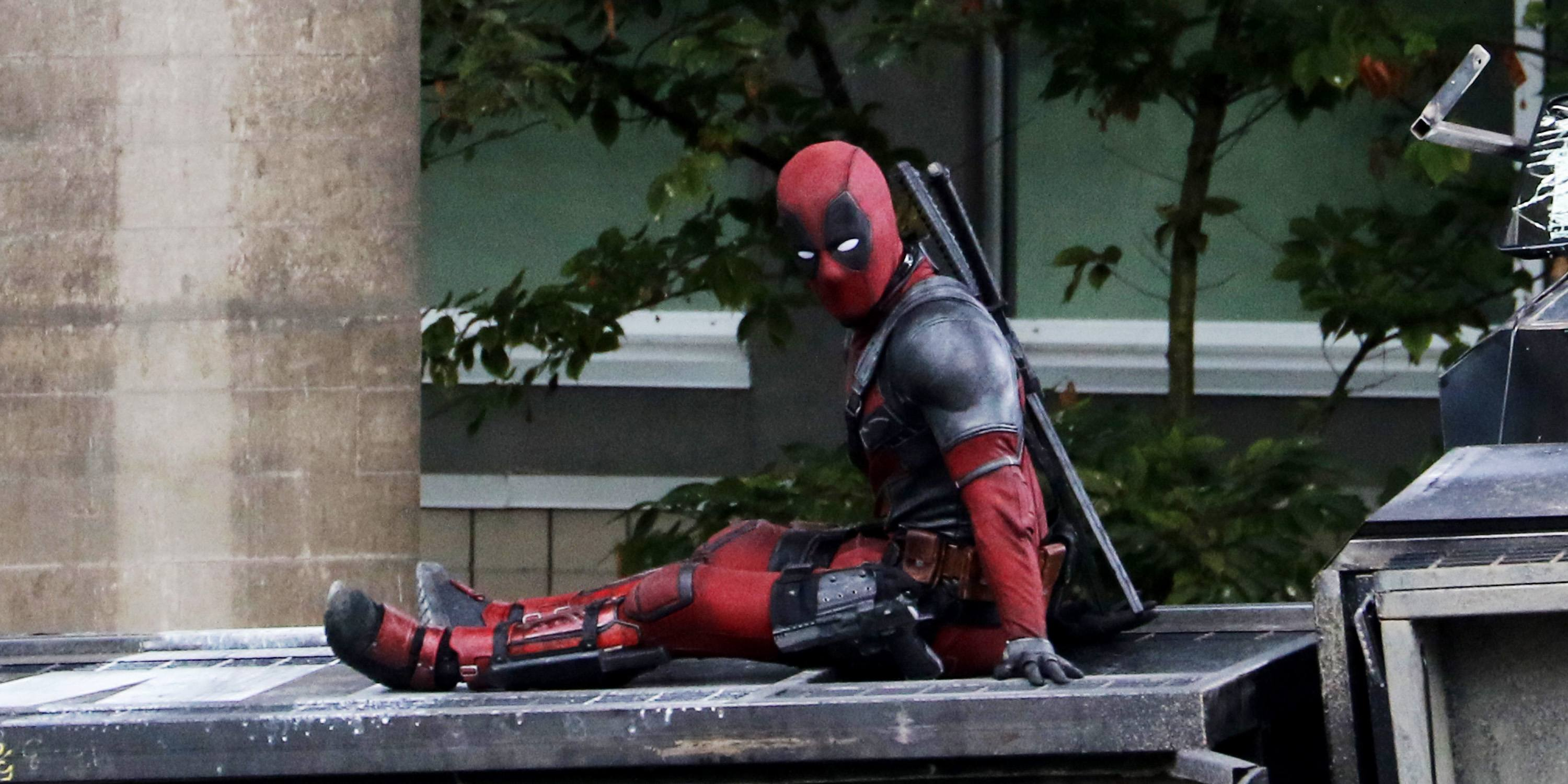 Ryan Reynolds spotted on Deadpool 2 set days after tragic accident (PHOTOS)