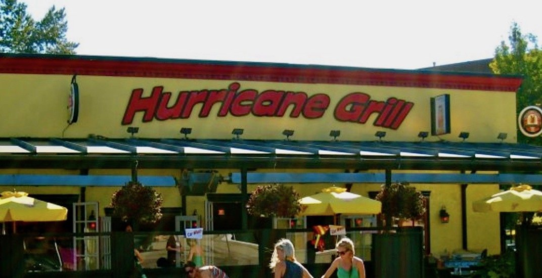 Hurricane Grill in North Vancouver closes after 14 years of operation