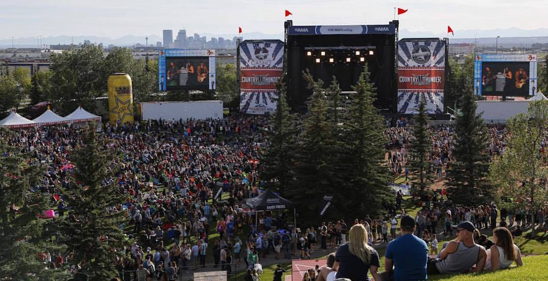 Country Thunder Returns To Calgary This Weekend With