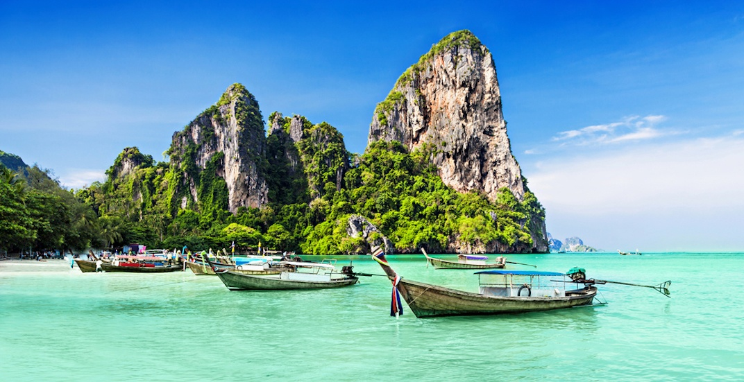 You can fly from Calgary to Thailand for $726 return this winter