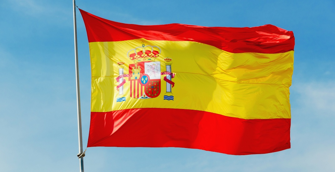 Spain flag spanish