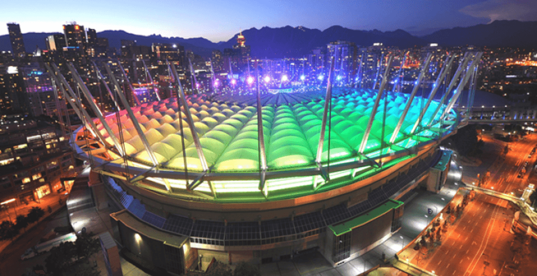 Bc place pride night whitecaps