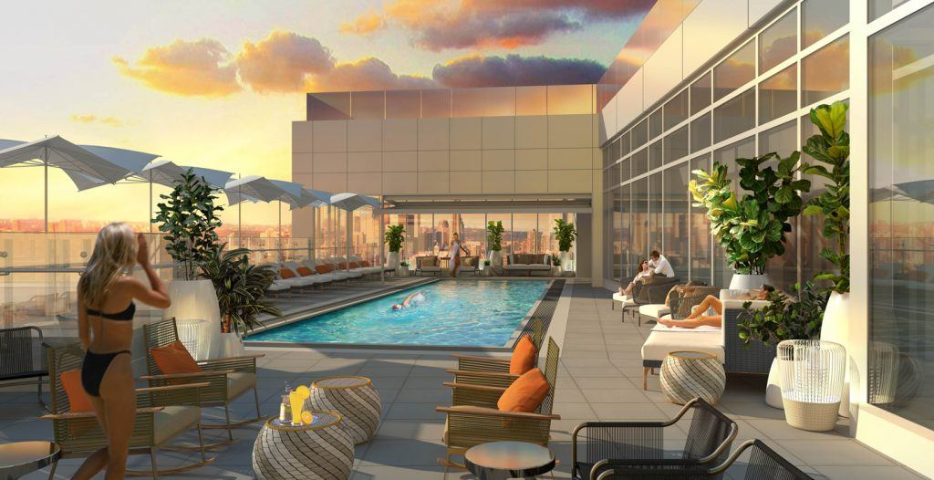 Anticipated opening of hotel x toronto pushed back yet for Pool show toronto 2018