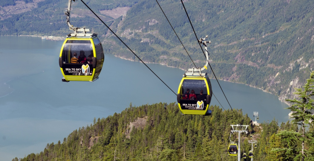 Kids can ride the Sea-to-Sky Gondola in Squamish for FREE during spring break