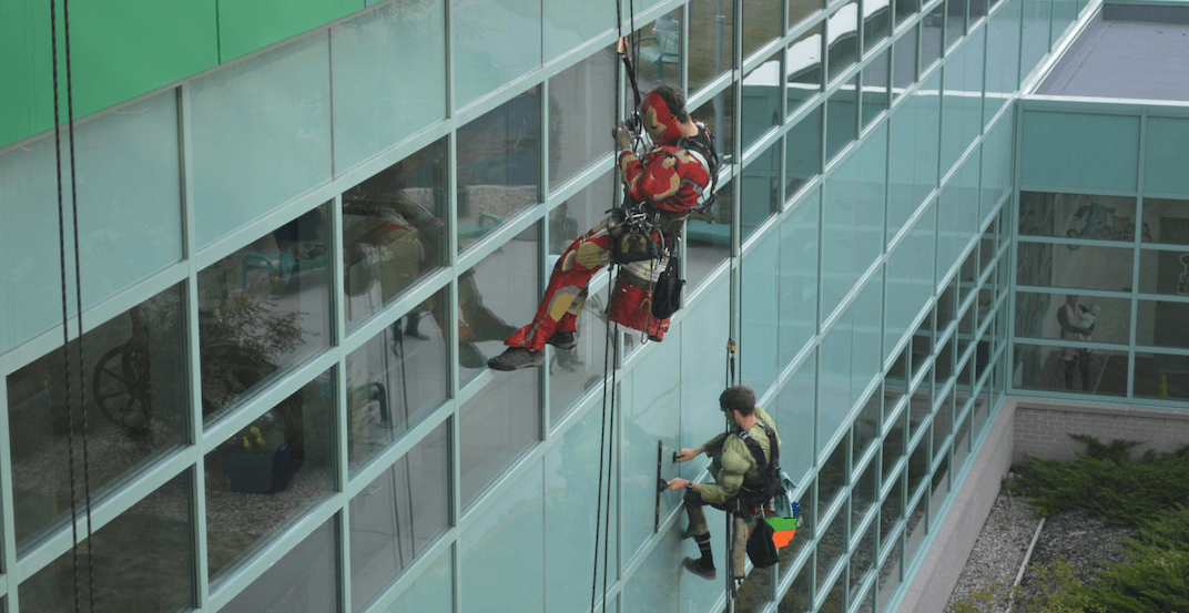 Superheros drop by the Alberta Children's Hospital (PHOTOS)