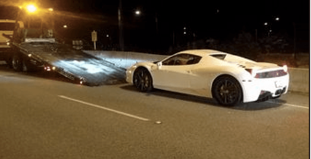 Ferrari driver caught doing 210 km/h over Lions Gate Bridge now facing charges