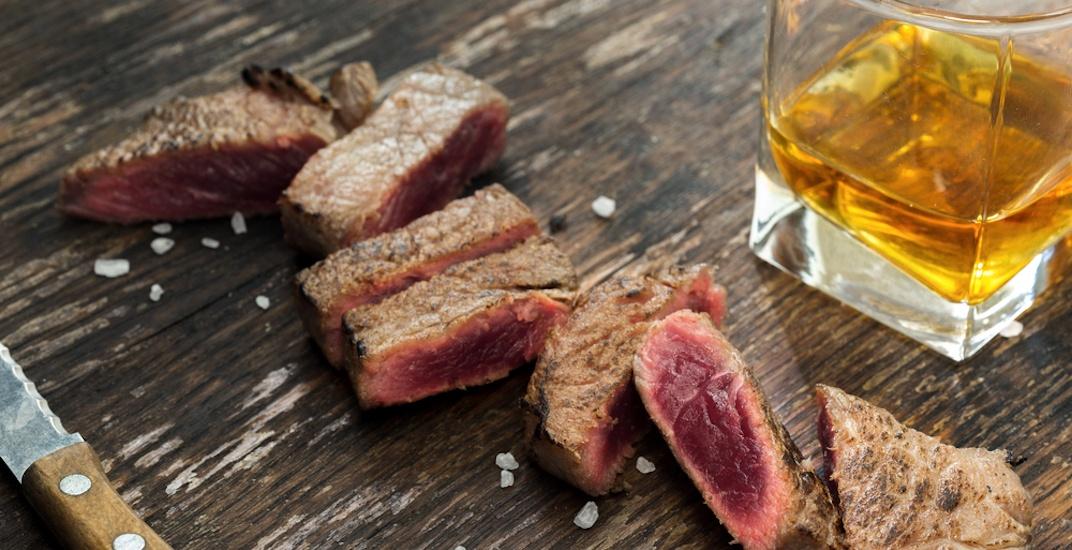 Whiskey dinner shutterstock