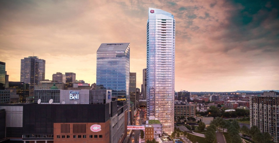 The Montreal Canadiens are opening Canada's largest sports bar this fall