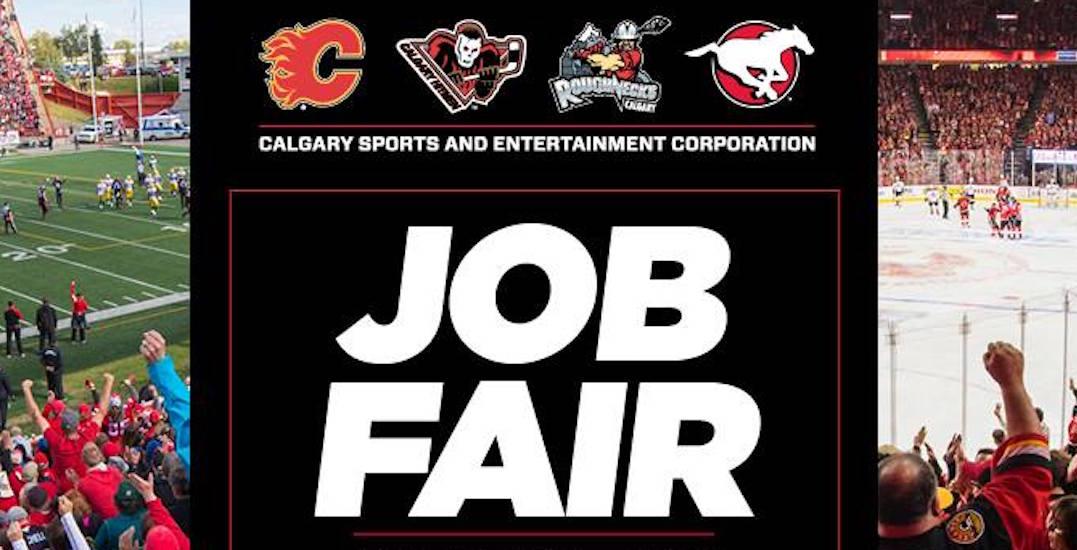 calgary sports  u0026 entertainment job fair happening tuesday