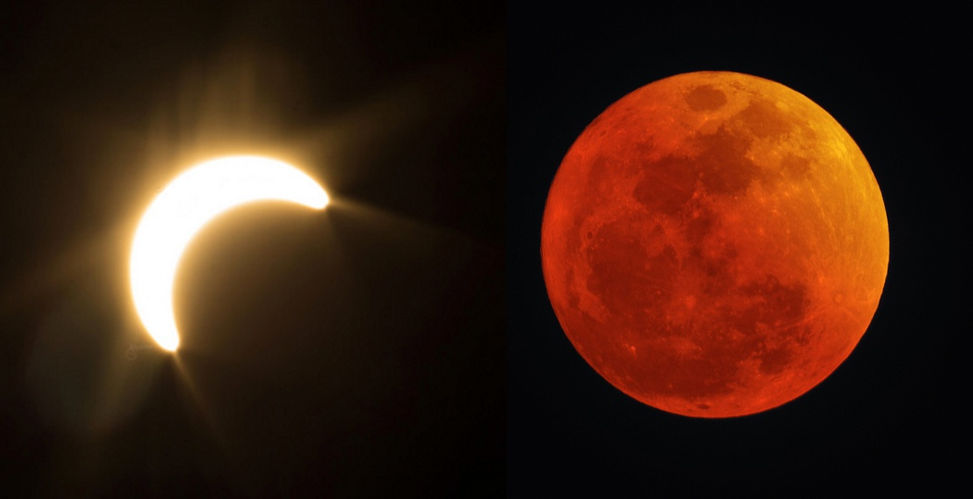 Here S When You Can Catch The Next Solar And Lunar Eclipses In Vancouver Daily Hive Vancouver