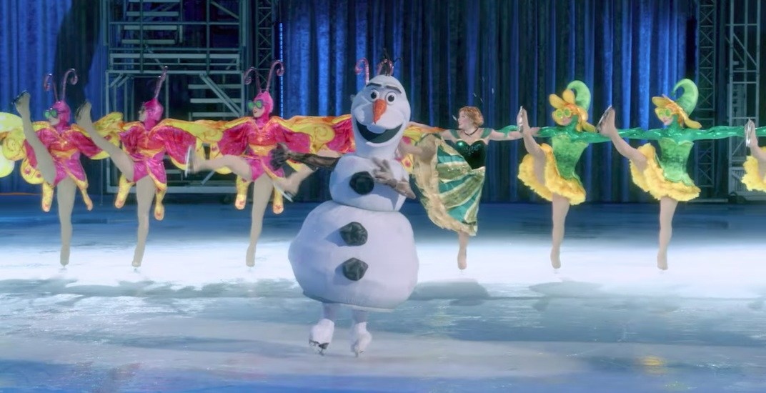 Disney On Ice's new 'Follow Your Heart' show comes to Vancouver this fall