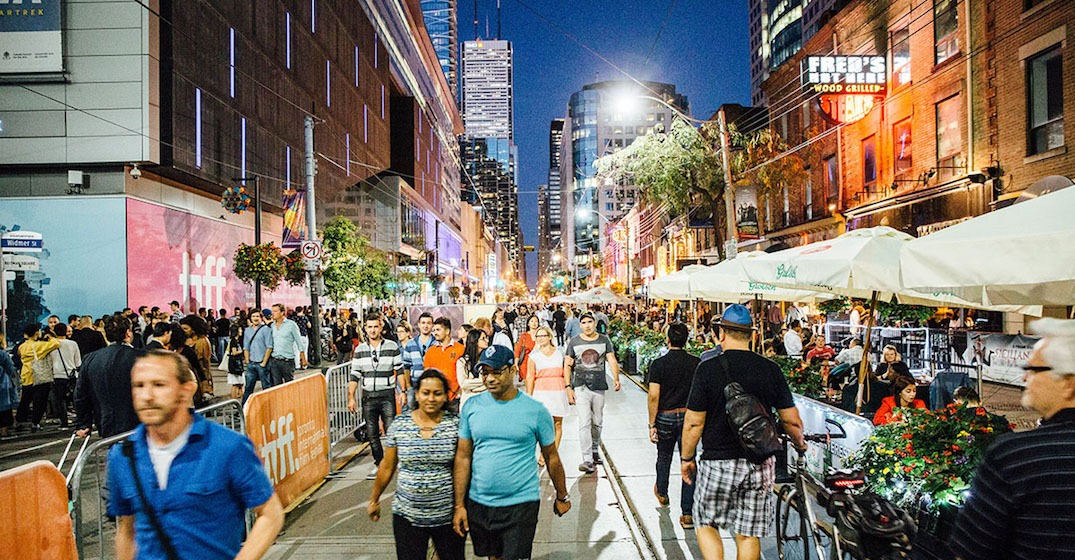 TIFF will close King Street for its annual street festival next month