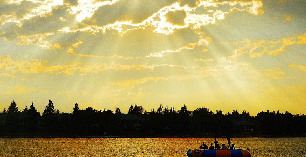 It's going to be sunny and 30°C this weekend in Calgary