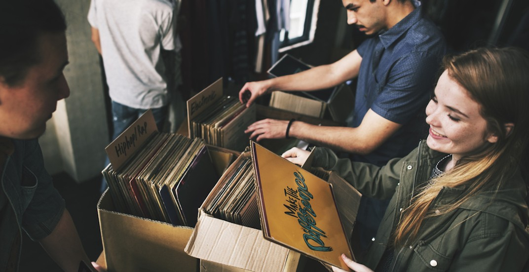 Vintage record fair comes to Calgary Saturday, August 26