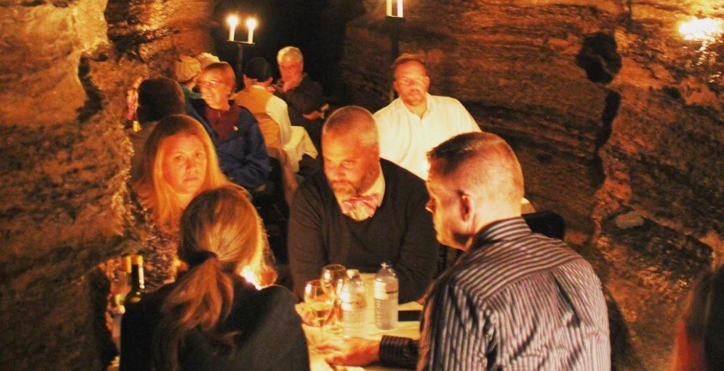 You can dine in these incredible caves in Ontario next month (PHOTOS)