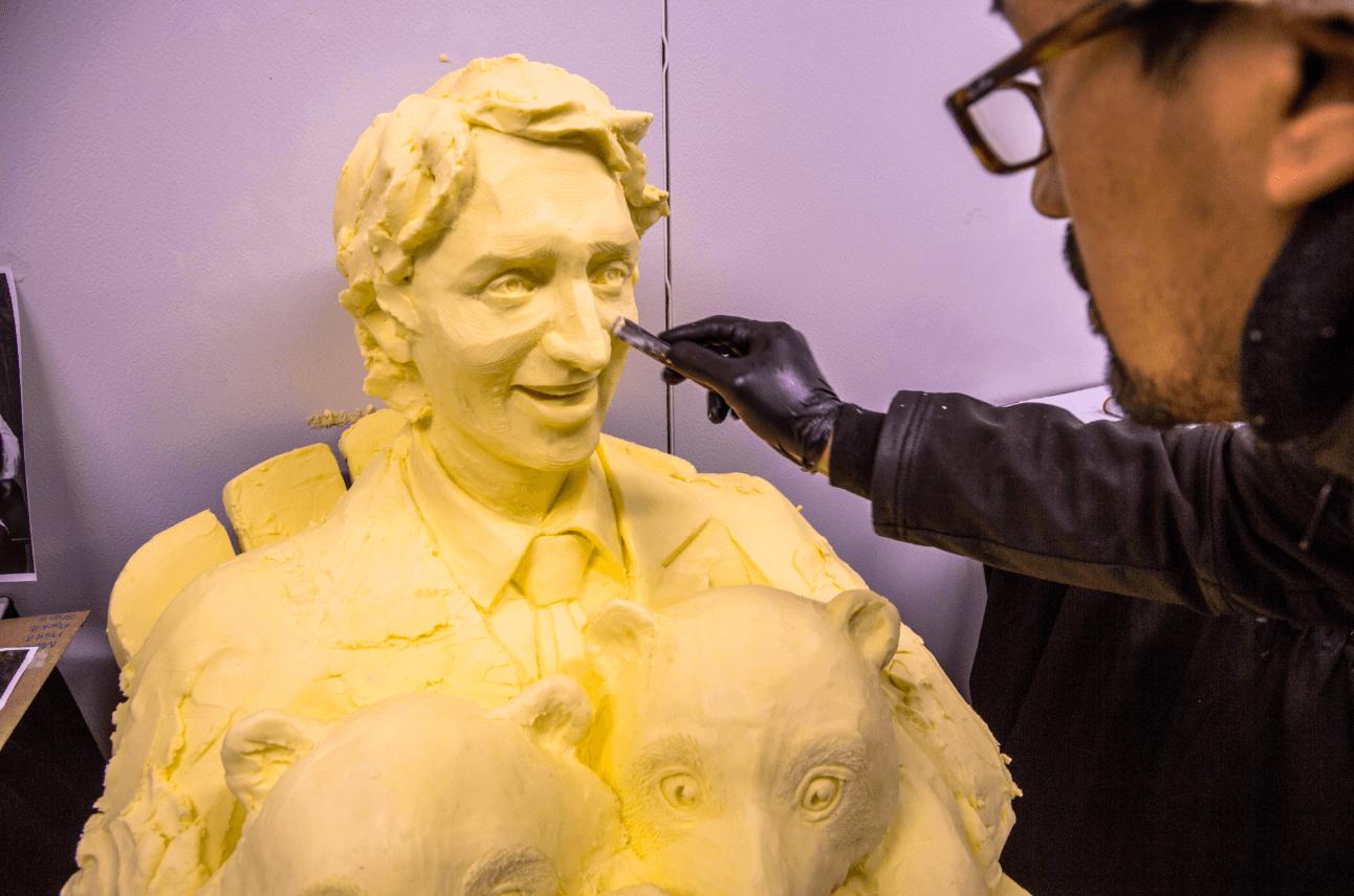 CNE Butter sculptures
