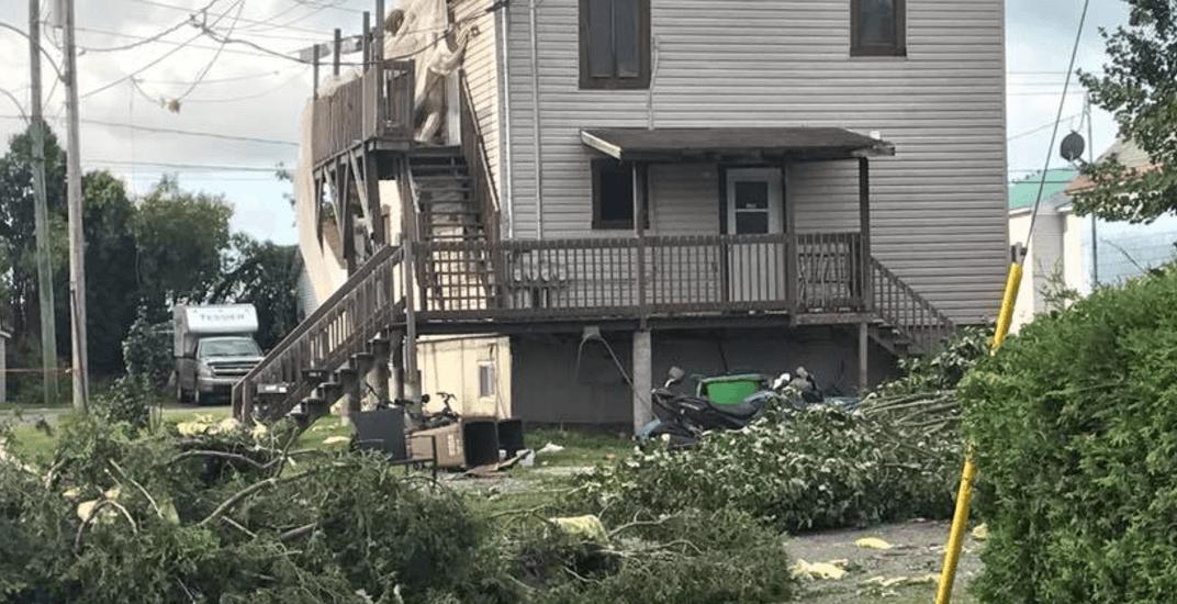 Tornado rips through Quebec town of Lachute (PHOTOS)