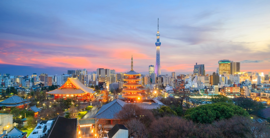 You can fly from Montreal to Tokyo for under $700 roundtrip