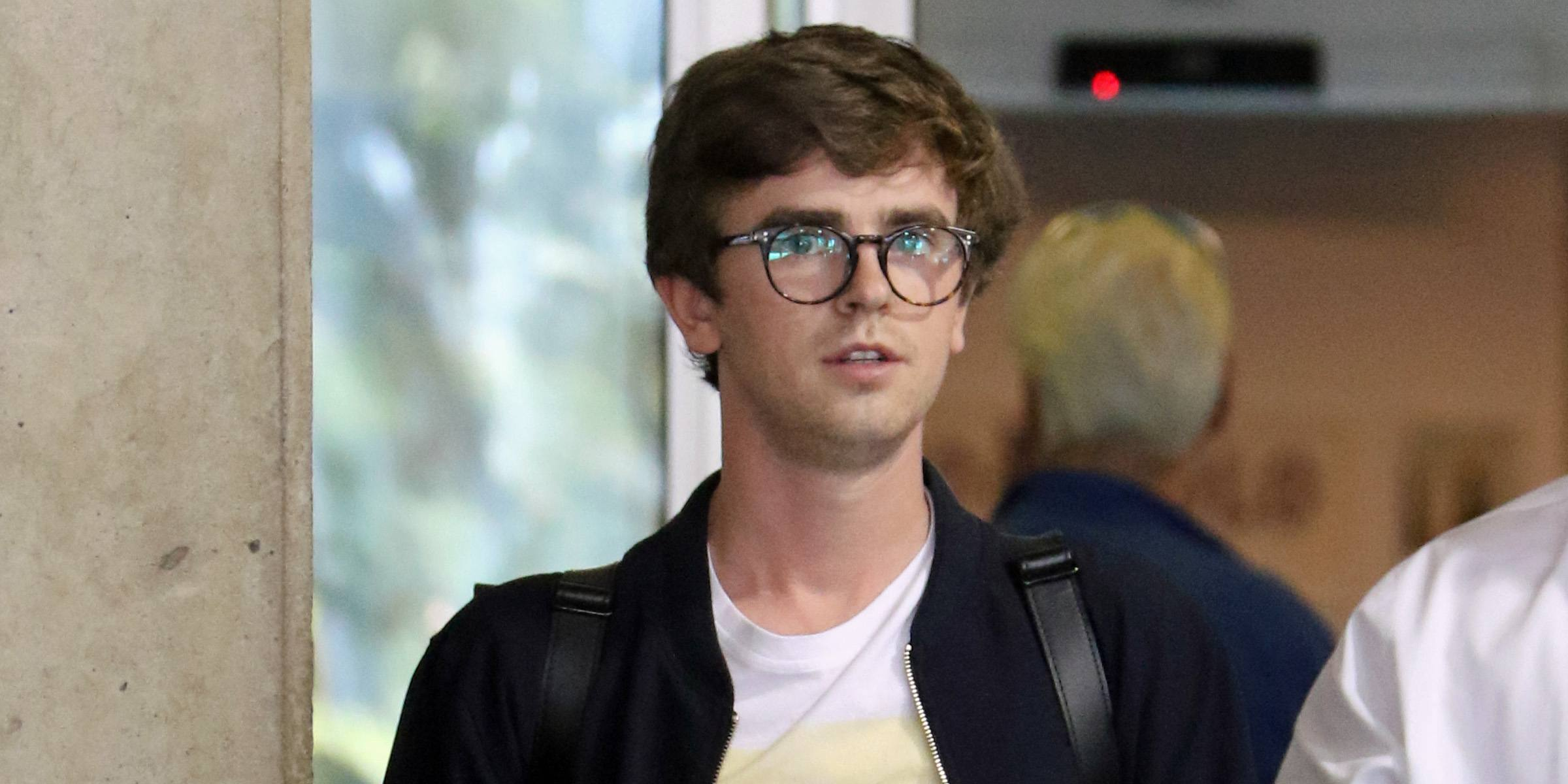 Freddie Highmore arrives in Vancouver to film 'The Good Doctor' (PHOTOS)
