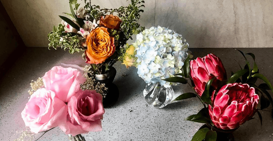 Amazing local initiative donates leftover flower bouquets to those in need