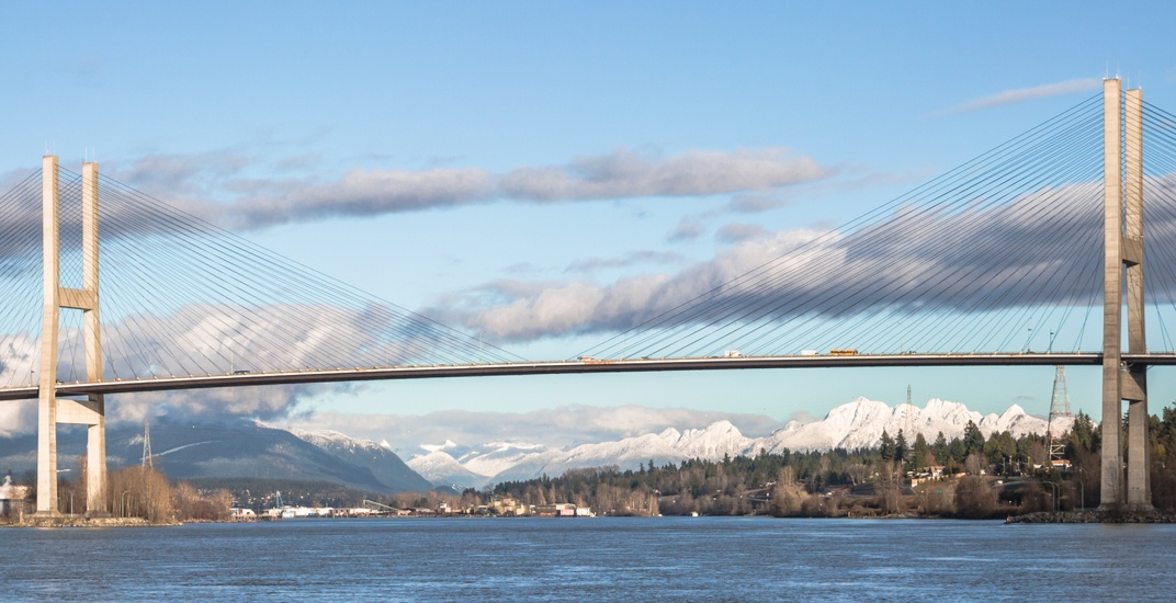 Expect weekend delays on the Alex Fraser Bridge due to lane closures