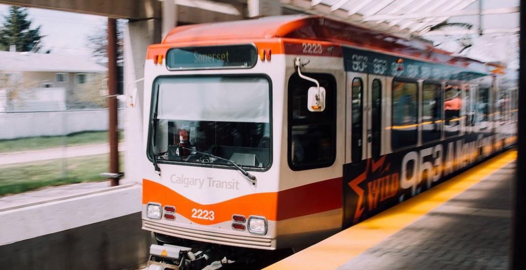Calgary transit c train flickr