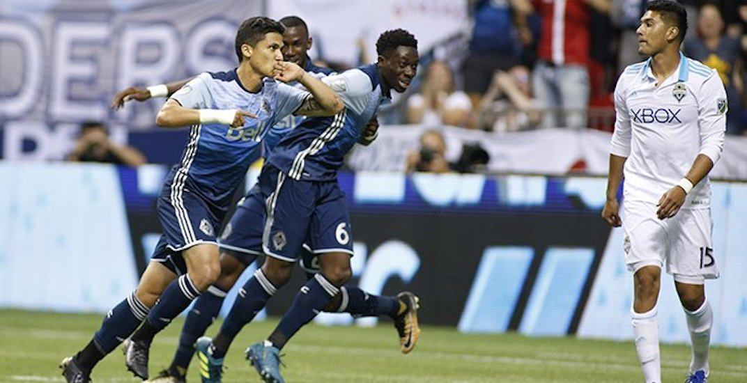 Alphonso Davies' determination earns a point for Whitecaps