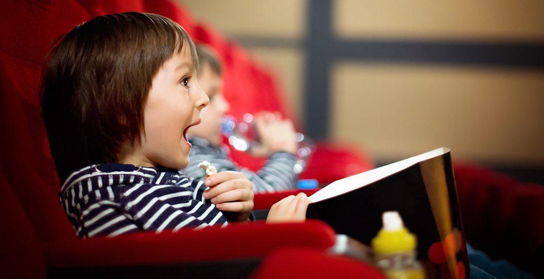Kids movie shutterstock