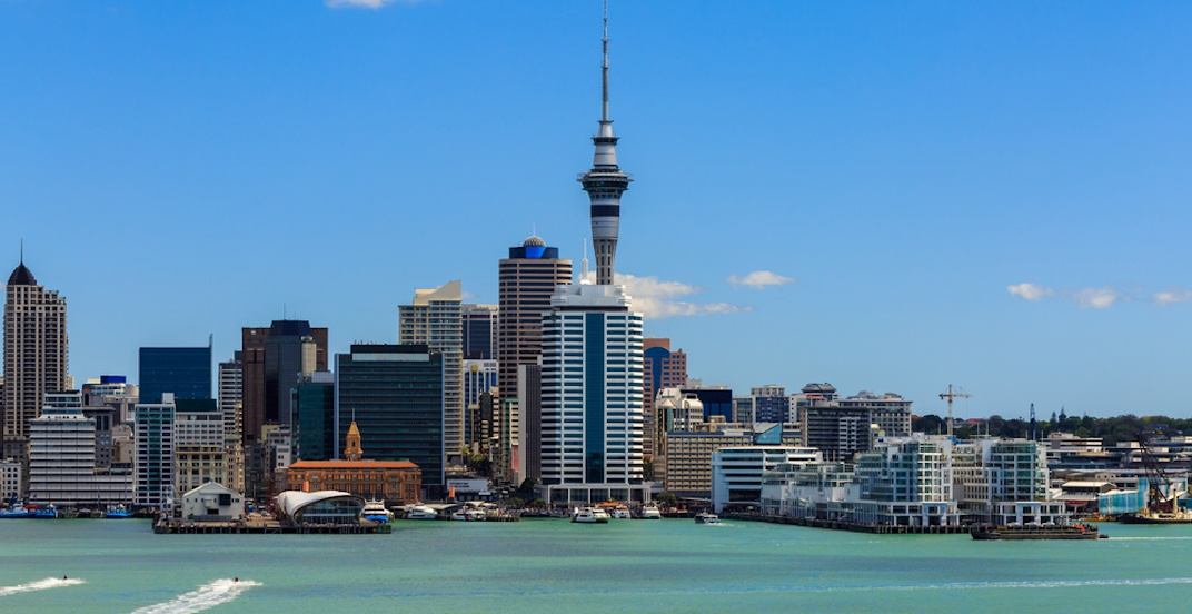 Flights from Calgary to Auckland, New Zealand for $988 return
