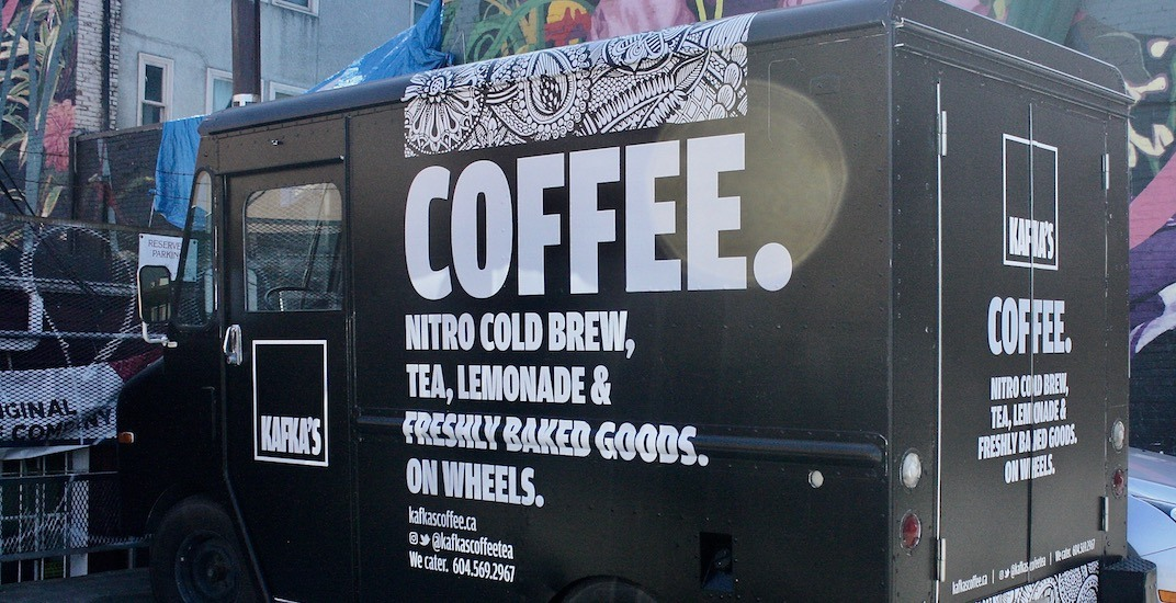 Check out the first mobile coffee truck in Vancouver
