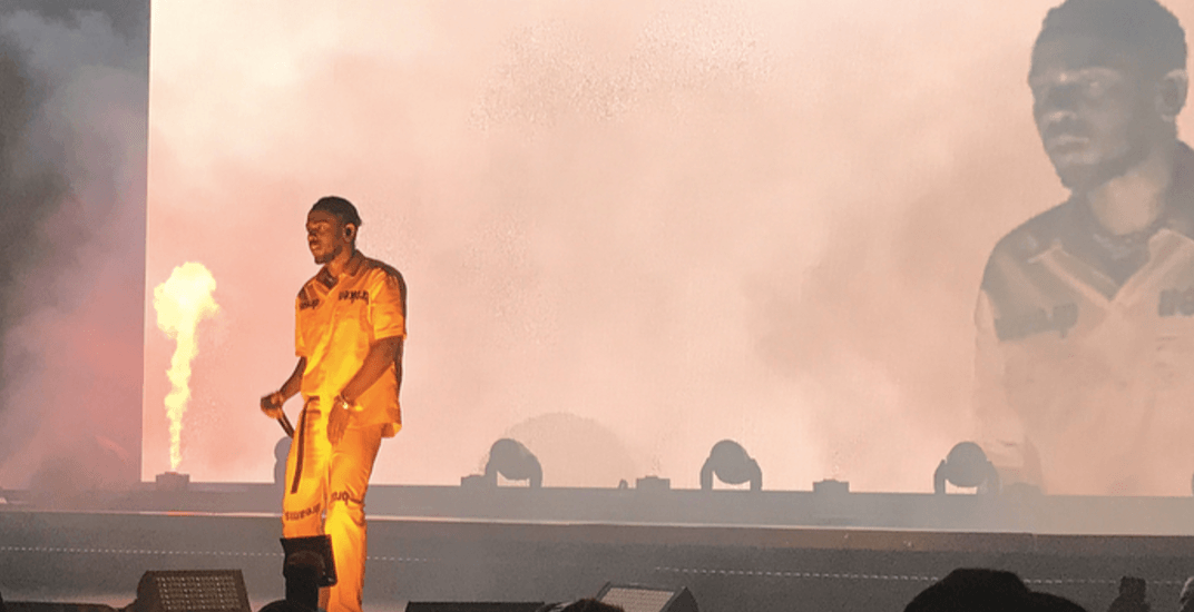 17 epic moments from Kendrick Lamar's Montreal concert (PHOTOS)