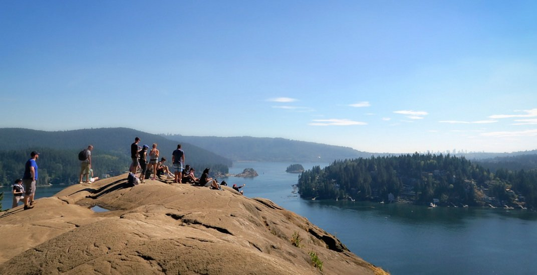 North vancouver quarry rock hiking deep cove