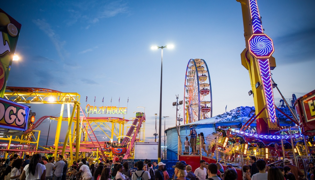 You can go to the CNE for half price on weekdays