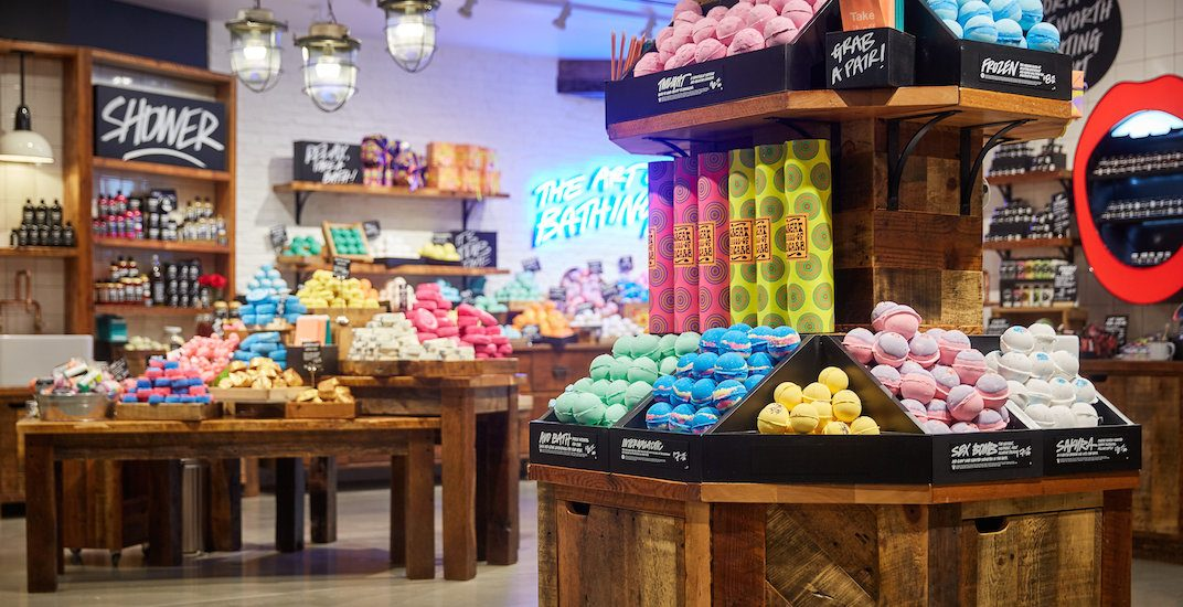 Lush reopens expanded Robson Street store as new Vancouver flagship (PHOTOS)