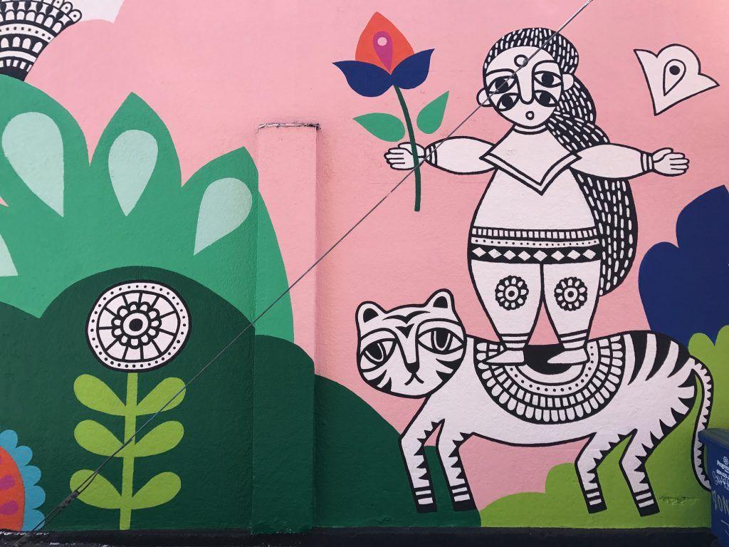 Sandeep Johal street artist