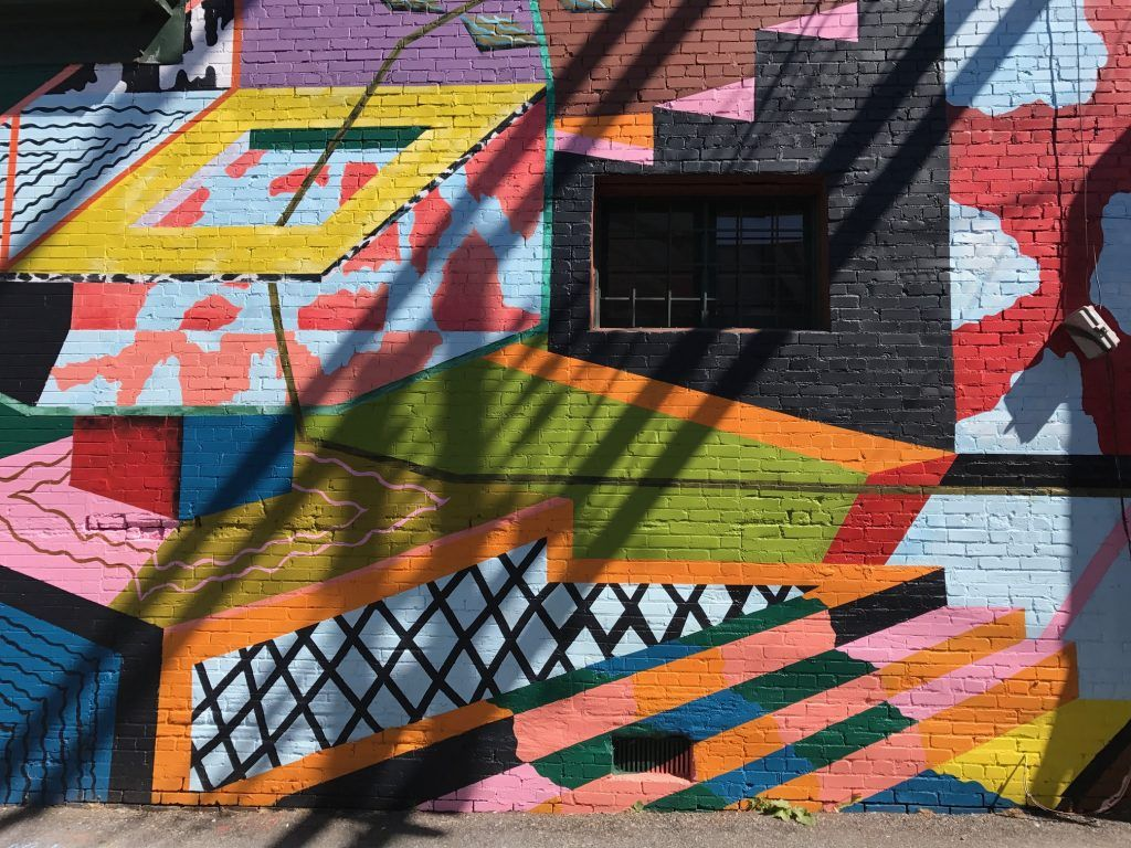 Vancouver mural by Priscilla Yu
