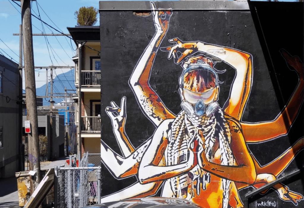 Wrkless Graffiti artist Vancouver
