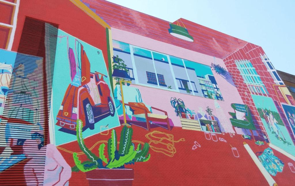 Andy Dixon Hootsuite Mural