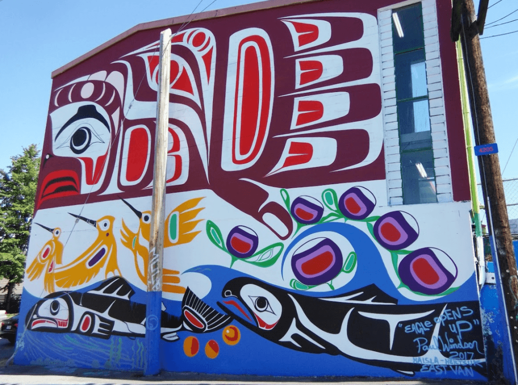 Native Street Art Vancouver