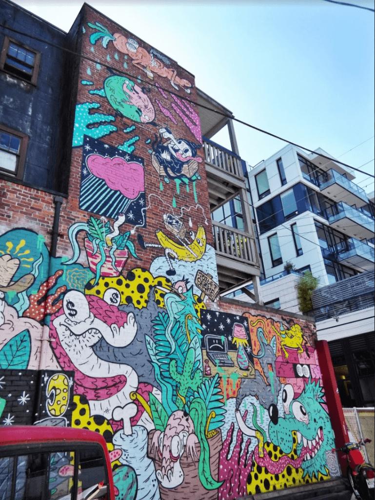 Graffiti Vancouver