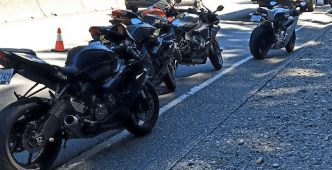6 motorcyclists charged after street racing in North Vancouver